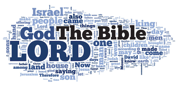Looking at the Bible Through a Word Cloud - .BIBLE: for all things ...