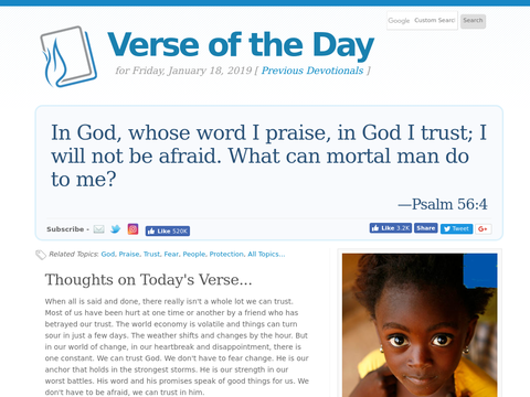 How to Best Share a Daily Bible Verse -  BIBLE: for all
