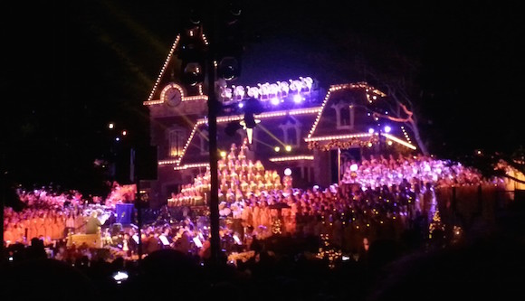 2014 Candlelight at Disneyland